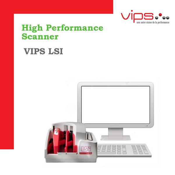 VIPS LSI - 55, 75 o 100 documentos por minuto