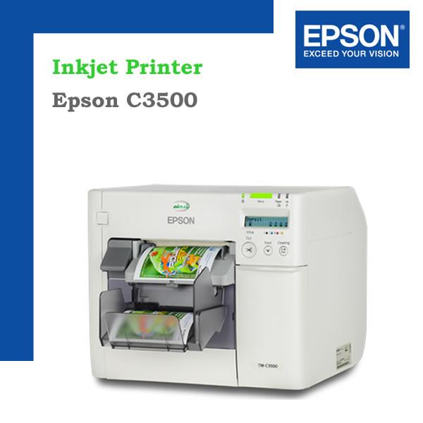 Epson C3500 Etiquetas a color
