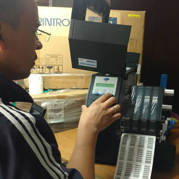 Maintenance of thermal printers